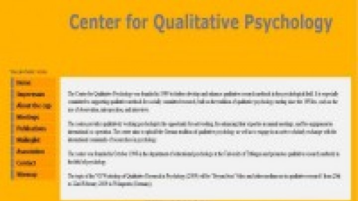 Center for Qualitative Psychology