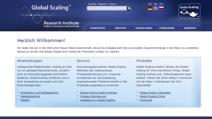 Global-Scaling Institute