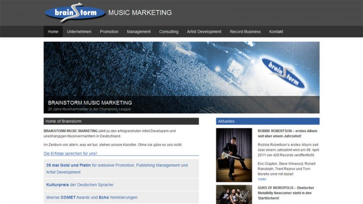 Brainstorm Music Marketing