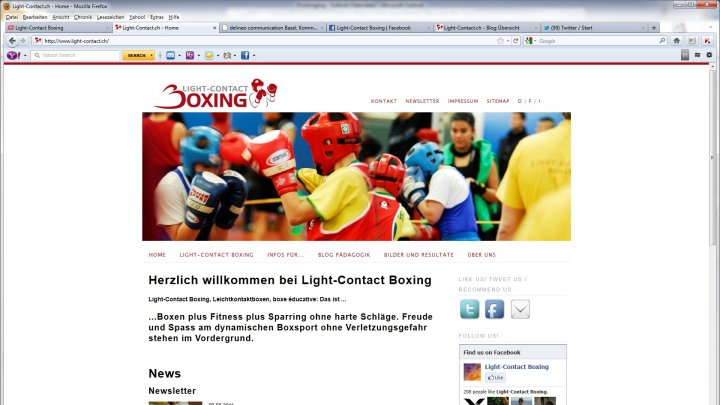 Light-Contact Boxing (Leichtkontaktboxen)