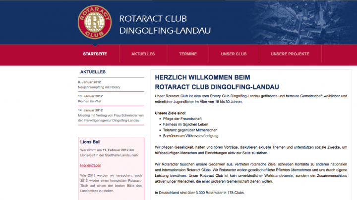 Rotaract Club Dingolfing-Landau