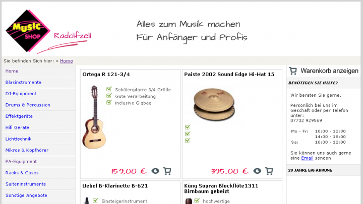 Music Shop Radolfzell