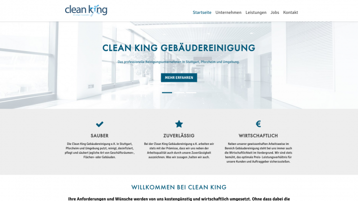 Clean King Gebäudereinigung