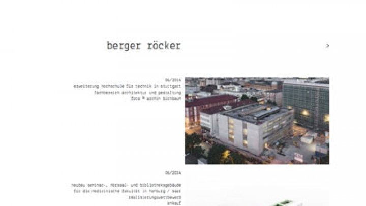 Berger Röcker Architekten