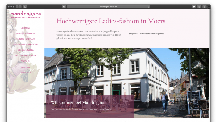 Mandragora :: Hochwertigste Ladies-fashion in Moers