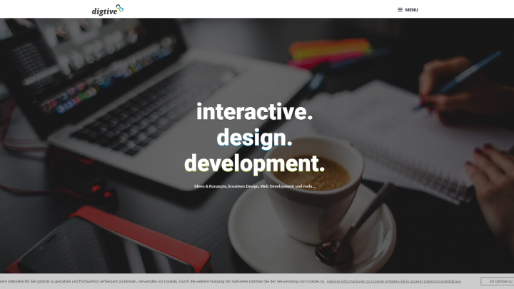 digtive - interactive. design. development.