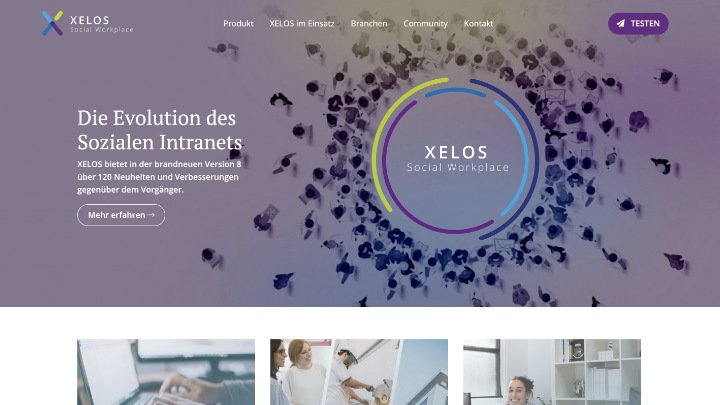 XELOS – Social Workplace