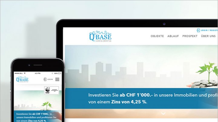 Investment in Schweizer Immobilien – Q - Base Capital Group AG