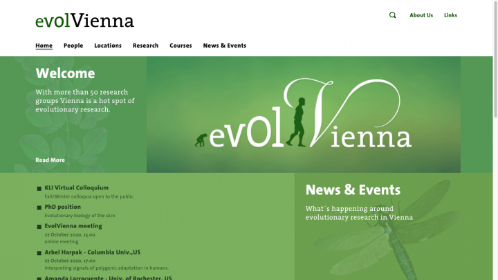 evolVienna – evolutionary research in Vienna