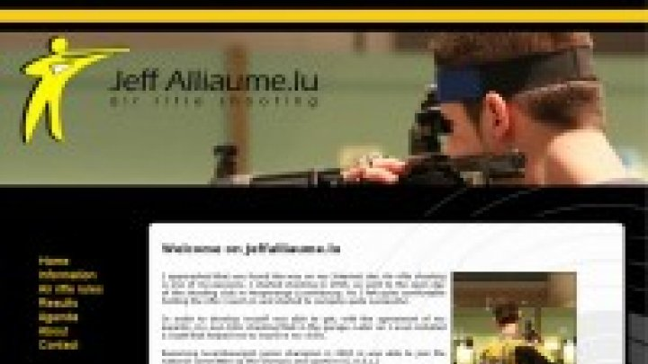 Jeff Alliaume - Air rifle shooting
