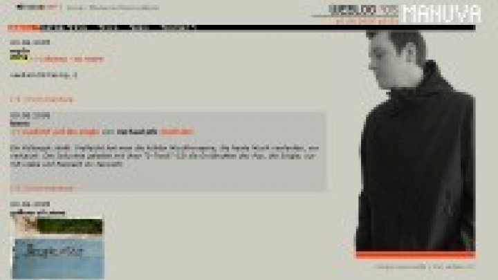 Manuva MC Website